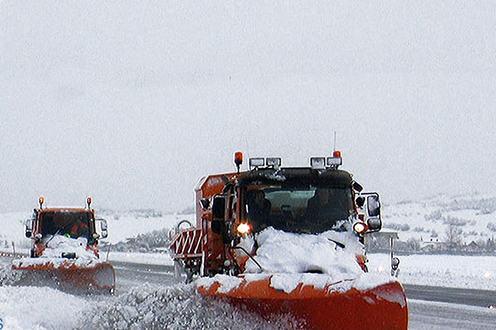 El Gobierno dispone 258 máquinas quitanieves y 42.661 toneladas de fundentes para hacer frente a las nevadas previstas en Castilla-La Mancha y Comunidad Valenciana