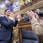 El Congreso de los Diputados da luz verde a la investidura del líder del PSOE