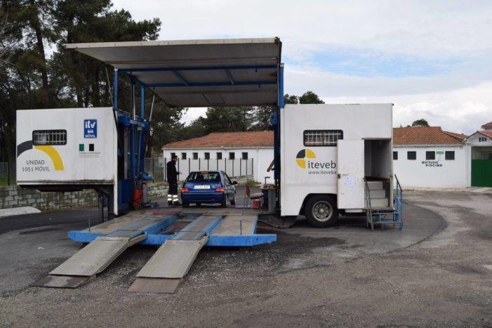 Unidade Móbil de inspección técnica de turismos na Guarda en febreiro e marzo
