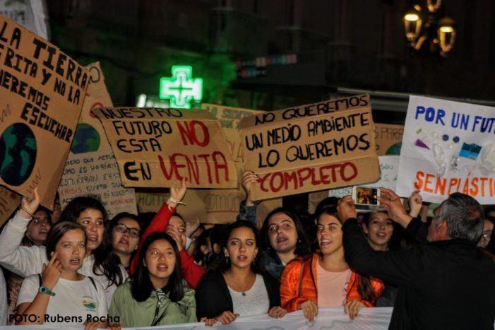 Marea de Vigo reclama ao Goberno local que non esqueza os compromisos adquiridos en setembro do 2019 coa Declaración de Emerxencia Climatica na moción do vindeiro Pleno.