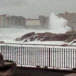 A Xunta activa a alerta laranxa por temporal costeiro no litoral da provincia da Coruña partir de mañá