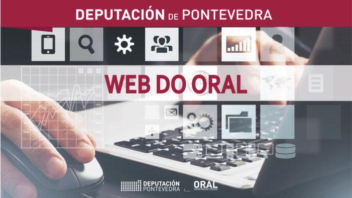 A nova web do ORAL recibe máis de 42.000 visitas nos seus primeiros tres meses de vida