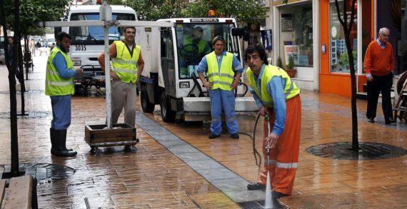 Os zafarranchos de limpeza do primeiro trimestre do ano trasládanse aos barrios da Parda, Valdecorvos, A Seca e Mollavao