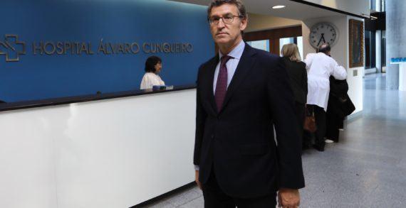 Cinismo e falsedades de Feijóo sobre o Hospital de Vigo