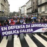 A Plataforma SOS Sanidade Pública quere mostrar o seu apoio as concentracións convocadas por a Xunta de Persoal  da  Área Sanitaria de Vigo
