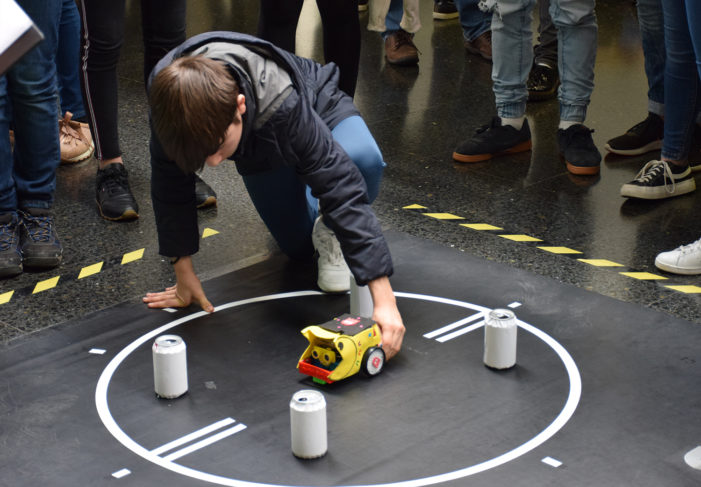 A Competición de Robots da EEI cubriu as 156 prazas ofertadas na primeira semana do prazo de inscrición