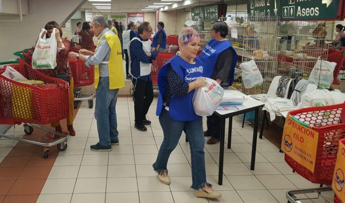 O Banco de Alimentos necesita 500  voluntari@s para poder desenvolver varias Operacións Quilo os próximos meses
