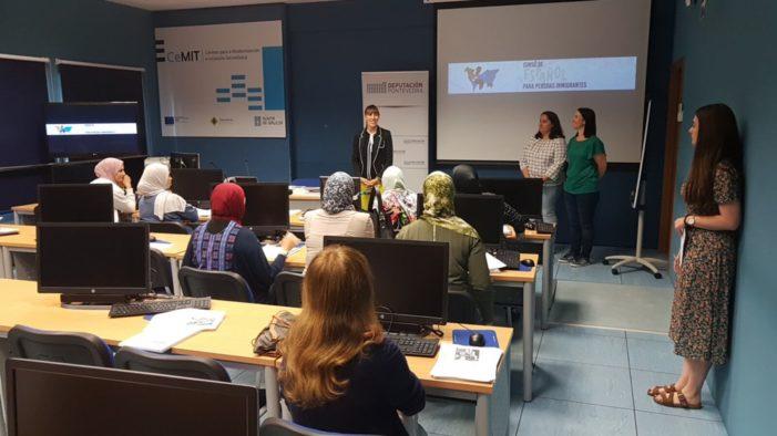 A Deputación de Pontevedra convoca unha nova edición dos cursos de español para persoas inmigrantes, que se desenvolverán en Pontevedra e Vigo