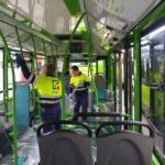 O persoal dos autobuses urbanos de Vigo reclámalles medidas de seguridade á empresa e ao Concello