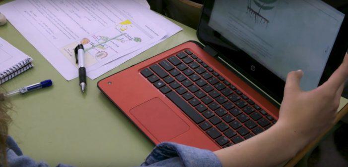Uno de cada tres niños de primaria no recibió clases online durante el confinamiento