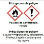 Etiquetado e indicaciones de seguridad para el uso y conservación de geles y soluciones hidroalcohólicas
