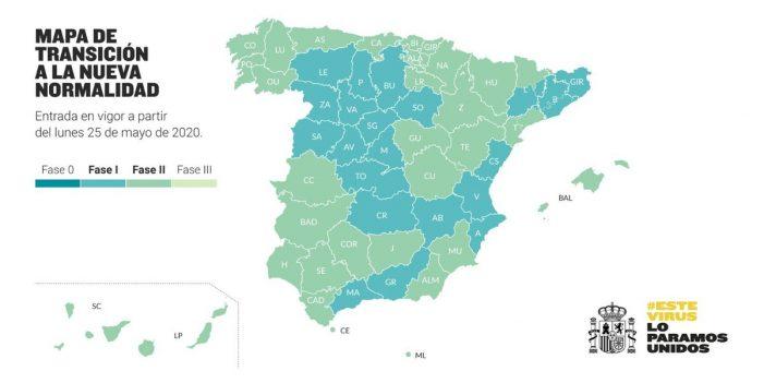 Illa anuncia que Galicia pasa a fase 2