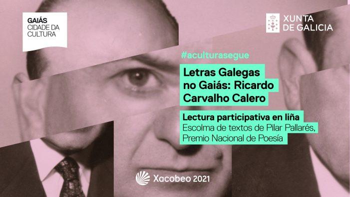 O Gaiás convida a gravarse lendo textos de Carvalho Calero para editar un vídeo coral con motivo das Letras Galegas