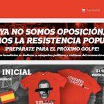 La web 'Gobierno Dimisión' no ha borrado los datos bancarios de usuarios a 6 días de la alerta de FACUA