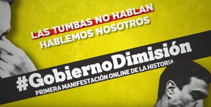 La web 'Gobierno Dimisión' deja al descubierto nombres, correos y cuentas bancarias de usuarios