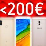 OCU analiza móviles de menos de 200 euros