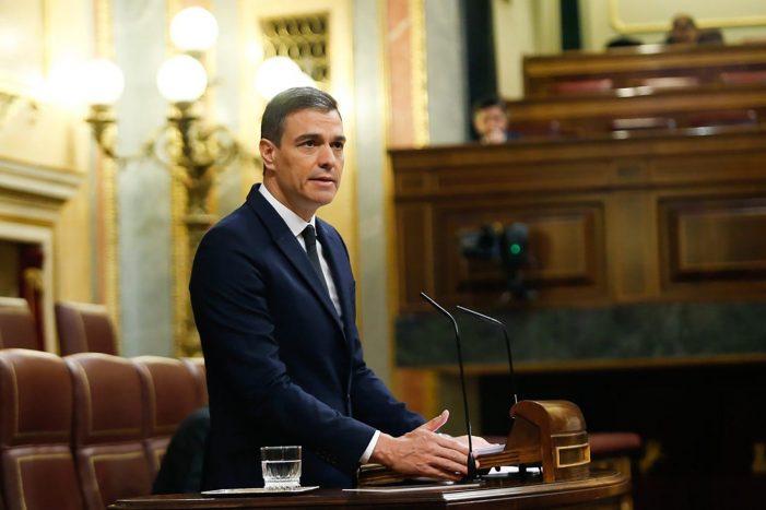"""Sánchez defiende una última prórroga del estado de alarma para """"acompañar a los territorios hasta la nueva normalidad"""""""