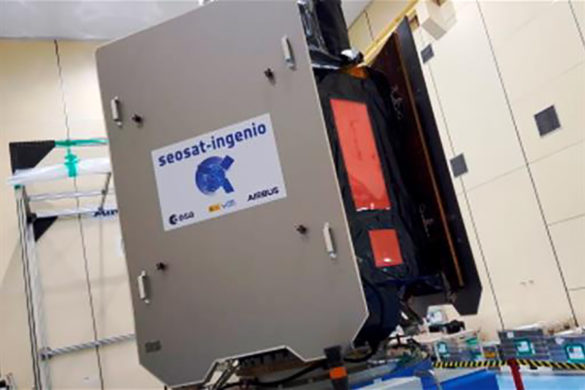 El satélite español INGENIO, que ofrecerá imágenes terrestre de alta resolución, se lanzará desde Kourou a finales de agosto