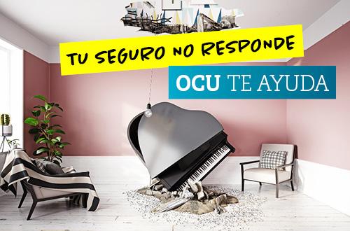 OCU lanza una campaña para combatir los incumplimientos de las compañías aseguradoras