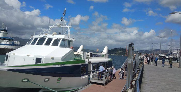 La línea regular marítima de pasajeros Cangas-Vigo retoma sus horarios habituales