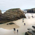 O Monumento Natural da Praia das Catedrais, en Ribadeo, poderá visitarse con autorización previa a partir do 1 de xullo
