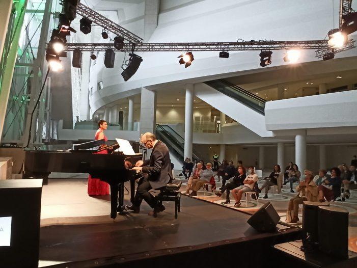 O Museo Gaiás abre cun recital da mezzosoprano viguesa Nuria Lorenzo e o pianista Alejo Amoedo o programa das súas 'Matinais Clásicas'