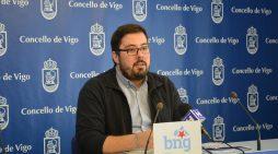 O BNG de Vigo alerta da insuficiencia de persoal nos bombeiros na cidade para encarar a tempada estival