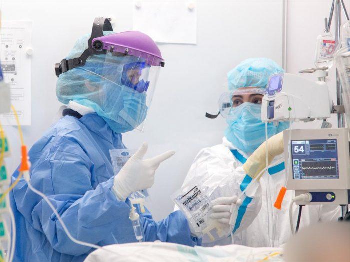Falecen 14 persoas pola COVID nas últimas 24h en Galicia e rexistra un total de 18.992 casos activos