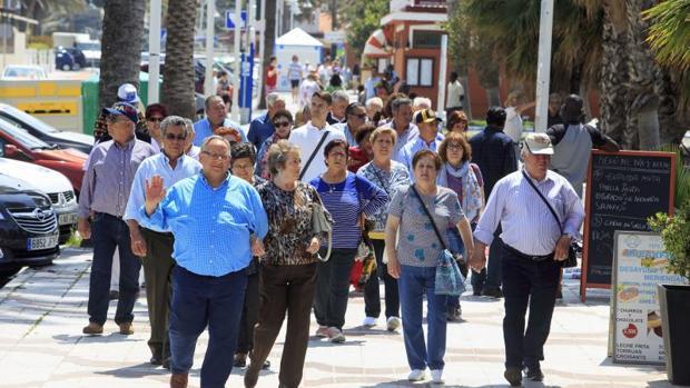 La nómina de pensiones contributivas de julio se sitúa en 9.882,66 millones de euros