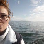 Tania Ballesteros Otero en el programa sobre protección del medioambiente y los océanos promovido por Afundación