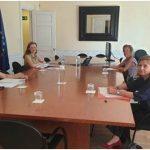 La Delegación del Gobierno Contra la Violencia de Género se reúne con las fiscales de sala de violencia de género
