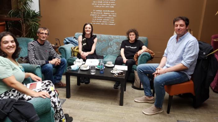 Xuntanza do Colexio de Xornalistas con representantes do Bloque Nacionalista Galego