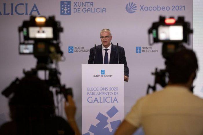 A participación nas eleccións ao Parlamento de Galicia ás 17 horas sitúase arredor do 43 por cento