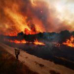 Activada como medida preventiva a situación 2 no incendio forestal activo no municipio ourensán de Cualedro, parroquia de San Millao
