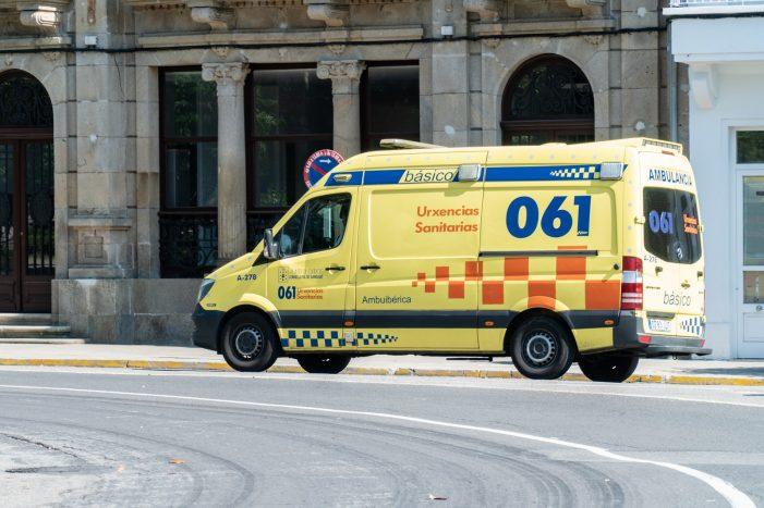 Unha persoa perde a vida despois de sufrir unha caída coa moto que conducía na Laracha
