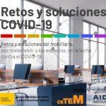 """Ciencia e Innovación publica el estudio """"Retos y soluciones del mobiliario, sus materiales, y los espacios, en la lucha contra el COVID-19"""""""