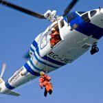 O helicóptero Pesca-I interveu en dous de tres rescates en zonas de montaña e difícil acceso durante a xornada do domingo