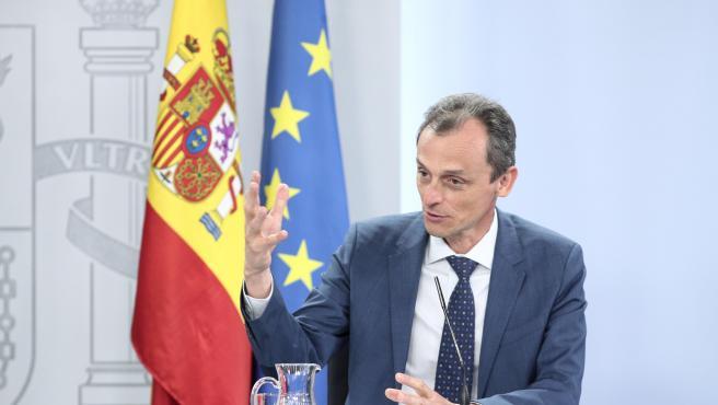 Pedro Duque, ministro de Ciencia e Innovación, candidato a la Dirección General de la Agencia Espacial Europea