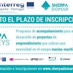 Na procura de 12 proxectos de emprendemento no sector mariño-marítimo