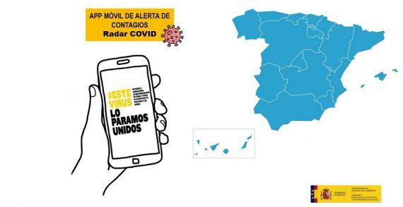 La aplicación móvil de alerta de contagios Radar COVID supera su fase de pruebas cumpliendo todos los objetivos marcados