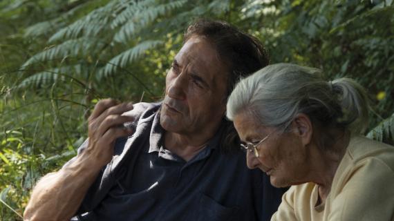 Benedicta Sánchez e Amador Arias, protagonistas de 'O que arde', entre os participantes dos Coloquios Fundación AISGE en Cans