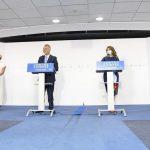 Yolanda Díaz destaca el compromiso del Gobierno con la singularidad canaria en materia económica y laboral, en la firma del Plan Integral de Empleo de Canarias