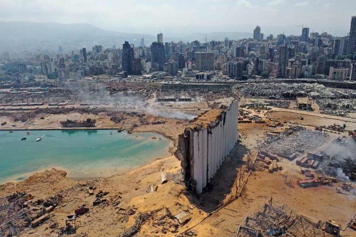 80.000 niños desplazados debido a las explosiones en Beirut