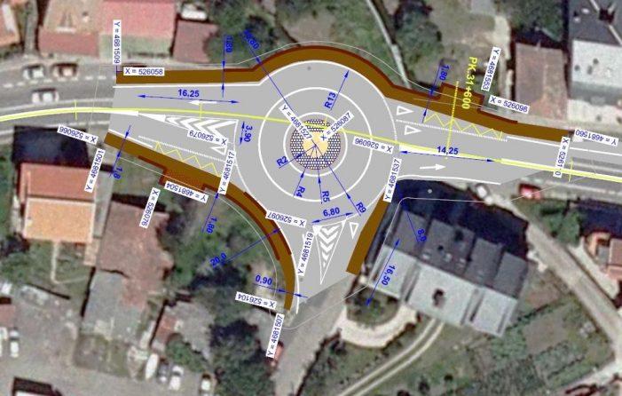 O DOG publica a aprobación do proxecto para eliminar un treito de concentración de accidentes na estrada PO-551, en Domaio, no concello de Moaña