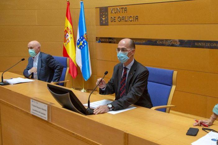 Sanidade establece con carácter preventivo medidas de restrición nos concellos da comarca e área sanitaria da Coruña