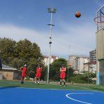O Concello adicou 40.000 euros á remodelación da pista polideportiva do CEIP Seis do Nadal