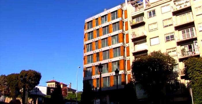 Un bloque cheo de okupas, en pleno centro de Vigo