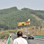 Extinguido o incendio forestal rexistrado no concello ourensán de Lobios, parroquia de Manín