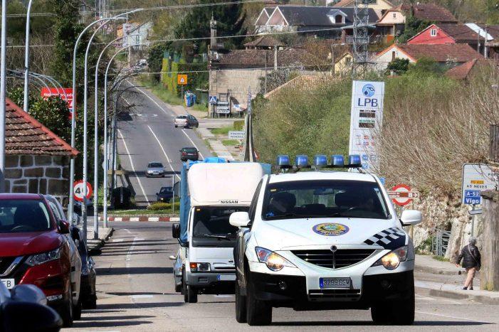 O goberno defende a eficacia da Policía Local e o nivel de seguridade cidadá en Ponteareas