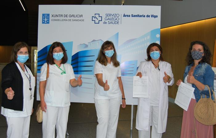 A área sanitaria de Vigo incorpora ao sistema público de saúde a 245 profesionais de diversas categorías